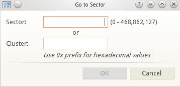 Disk Editor software