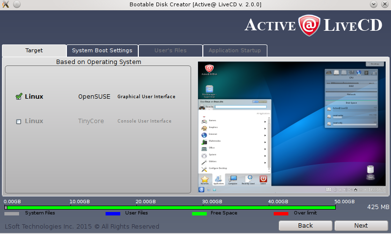 active@ boot disk creator 13
